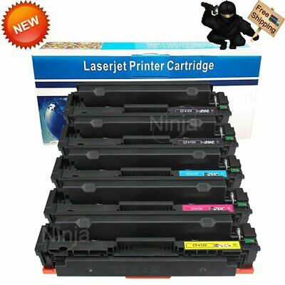 5PK CF410X High Yield Toner Set For HP Color LaserJet MFP M452dw M452dn M477fnw
