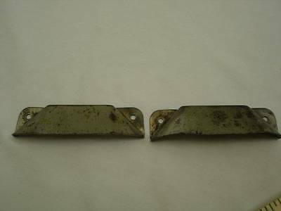 Vintage Pair Cup Handles Cupboard Drawer Pulls Cabinet 3 1/2 wide  #12