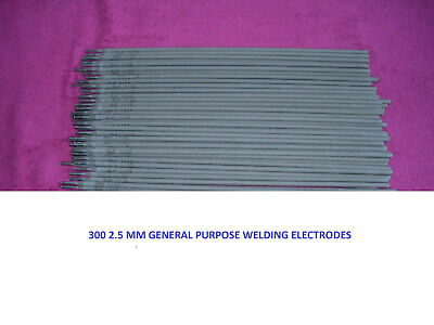 25   2.5mm General Purpose Welding Electrodes/Rods 30cm Length