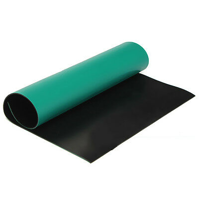 Green Desktop Anti Static ESD 300x400mm Grounding Mat For Phone PC Tablet U1026