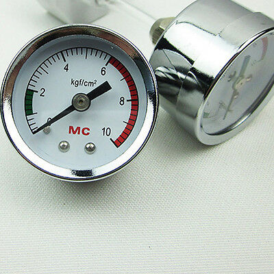 Pressure Gauge for DIY CO2 Generator System Live Plant Aquarium