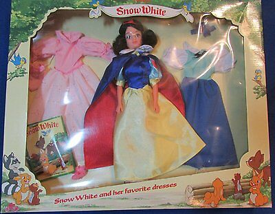 Vintage Snow White Doll and Her Favorite Dresses - 12 Inch