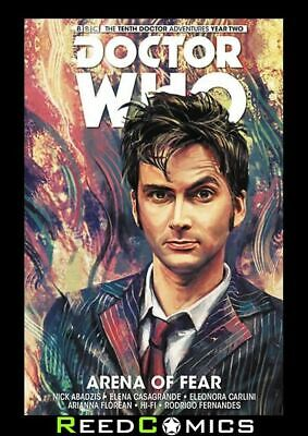 DOCTOR WHO 10TH DOCTOR VOLUME 5 ARENA OF FEAR HARDCOVER Collects YEAR TWO #6-10