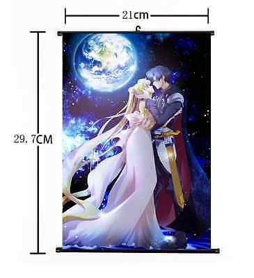 New Hot Japan Anime Sexy Sailor Moon Home Decor Poster Wall Scroll 21*30CM 005