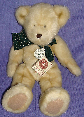 "Boyds Bear Brinkley Bearsdale 510811 Handmade New With Tags 14"" Fully Jointed-Ay"