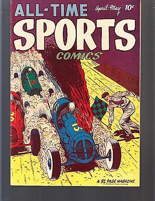 ALL-TIME SPORTS COMICS  #4 1949 HILLMAN  52pgs  NM-