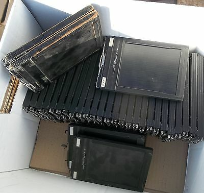 Lot of 7 Riteway / Graflex 4x5 Flim Holders ..