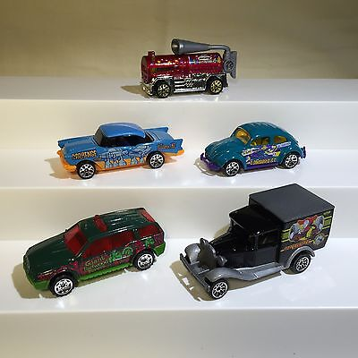 Matchbox 2004 HERO CITY - VHTF Mail Order Only Set of 5 vehicles, incl VW Beetle