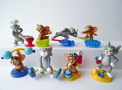 KINDER FERRERO SURPRISE FIGURE CARTINE SERIE COMPONIBILI TOM JERRY k04 98 103 99