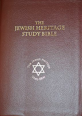 Jewish Heritage Instant Reference Study Bible (First & Only) Free Shipping