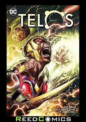 TELOS GRAPHIC NOVEL New Paperback Collects Issues #1-6 by DC Comics *144 Pages*