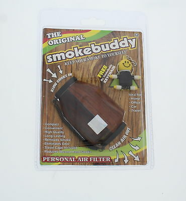 Smokebuddy Personal Air Filter Original, Wood