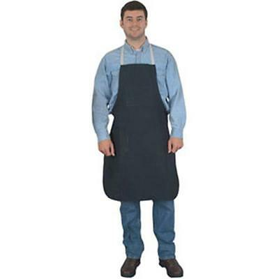 "Memphis Denim Shop Apron - Bib, 36"", 2 pockets"