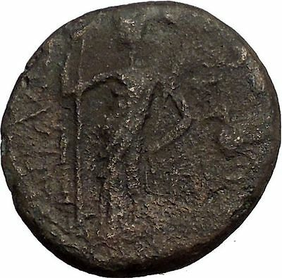 HADRIAN 117AD Ascalon in Judaea Rare Authentic Ancient Roman Coin i57528