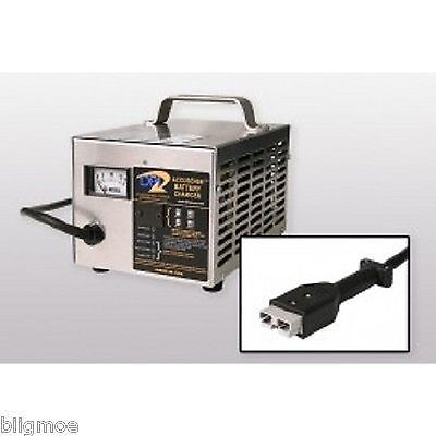 DPI 72V 12A Intelligent Golf Cart Battery Charger with Anderson SB-50 Connector