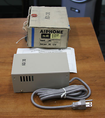 Aiphone PS 12C Power Supply DC 12V