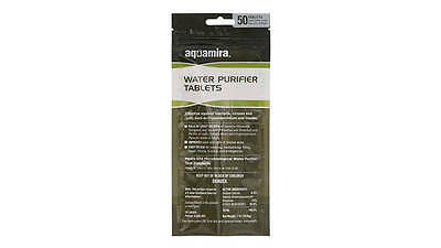 Aquamira Water Purification Tablets 50 Pack