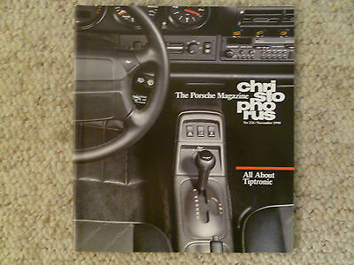 Porsche Christophorus Magazine English #226 November 1990 RARE!! Awesome L@@K