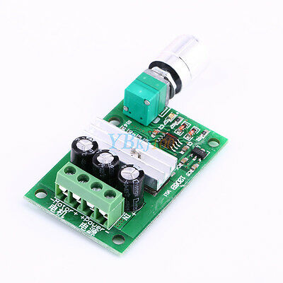 3A PWM Motor Speed Controller Module Switch Control Input Power Range DC 6-28V