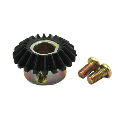 Metal Worm Wheel + Plastic Gear Reducer Reduction Gearset for DIY Accessories