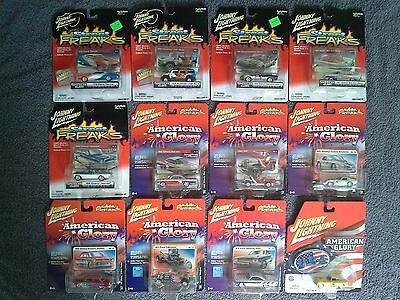 Johnny Lightning AMERICAN GLORY 12 Car Lot MOC/MIP Group Chevy Corvette Shelby