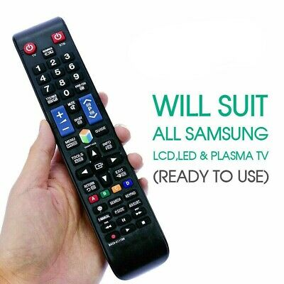 Universal Samsung Remote Control TV NO PROGRAMMING Smart 3D HDTV LED LCD TV