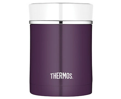 Thermos Sipp 470mL Stainless Steel Vacuum Insulated Food Jar - Plum