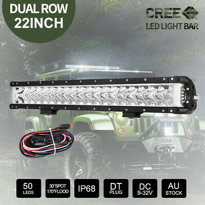 23 inch 280W CREE LED Light Bar Spot Flood Combo Work Driving Lamp 12V 24V 22""