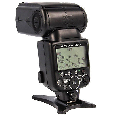MeiKe Mk-910 High Speed Sync 1/8000s i-ttl Flash Speedlite Replacement for Nikon