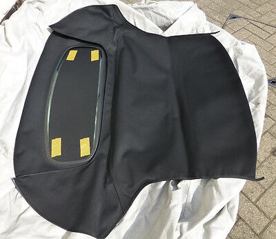 Mgf & Mg Tf Heated Glass Rear Window Hood, Black, Brand New (Bgf2003Glassblkz)