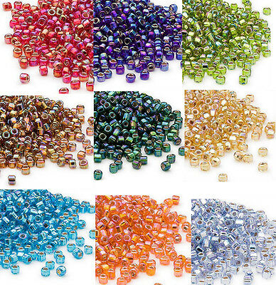 50g 6//0 Matte Frosted Round Glass Seed Beads Jewelry Crafts 4mm about 495pcs//50g