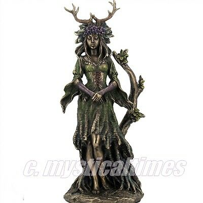New * Lady Of The Forest * Pagan Wicca Figurine Ornament From Nemesis Now