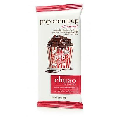 Chuao Chocolatier 900951 Pop Corn Pop Chocolate Bar 6 bars