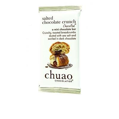 Chuao Chocolatier 900342 Salted Chocolate Crunch ChocoPod Mini Bar 24 Mini Bars