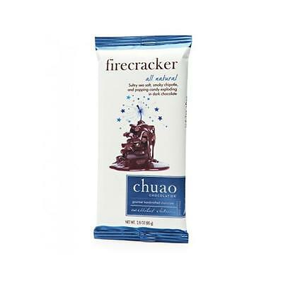Chuao Chocolatier 900727 Firecracker Chocolate Bar, 6 bars