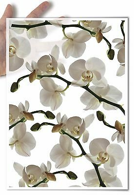 Decoupage Paper soft White phalaenopsis orchid orchids flower flowers