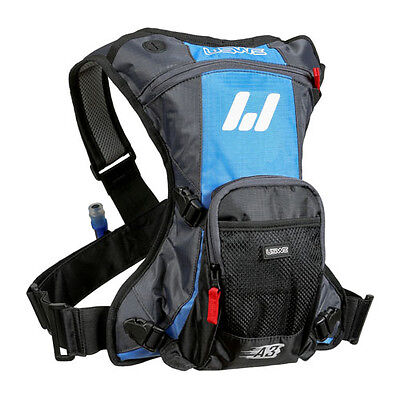 USWE A3 Challenger 2.0L Hydration Pack Blue/Grey MX/Enduro/MTB/Cycling/Outdoor
