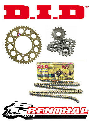 Renthal / DID Chain & Sprocket Kit to fit Yamaha WR 125 X / WR 125 R 2009-2015