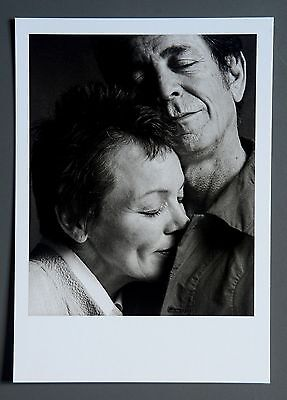 Guido Harari Limited Edition Photo 17x24cm Laurie Anderson & Lou Reed Turin 2002