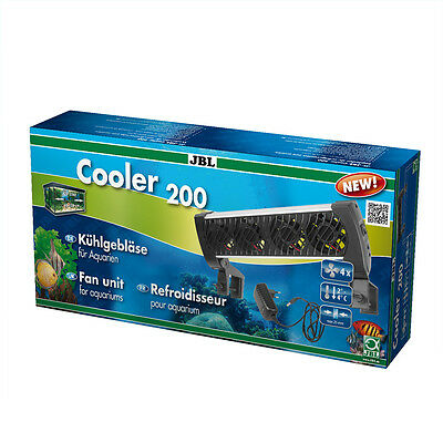 JBL Cooler 200 12v fan aquarium chiller cooling system aquarium fish tank