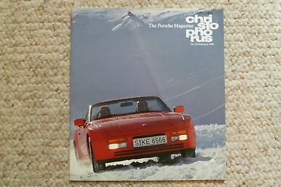 Porsche Christophorus Magazine English #222 February 1990 RARE!! Awesome L@@K