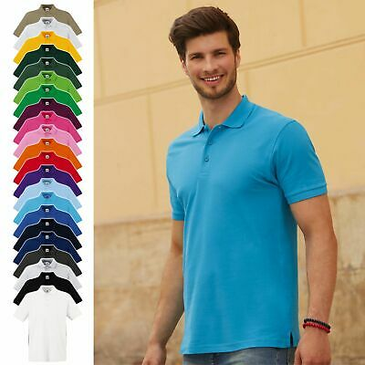 3er Pack ** FRUIT OF THE LOOM ** Herren Poloshirt, Premium Polo 63-218-0 ** NEU