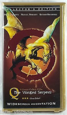 Q - The Winged Serpent (VHS, 1998) Collector's Edition, Clamshell Case