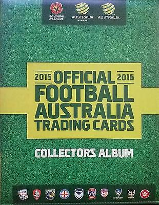 2015/16 Tap N Play FFA & A-League Album / Folder & Complete 200 Card Base Set
