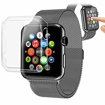 CLEAR COVER CASE Screen Protector Film Accessories For iWatch 42MM APPLE WATCH 1