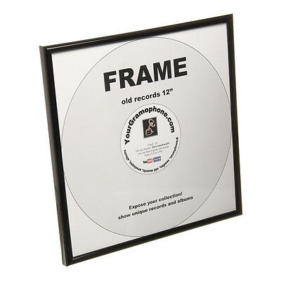 """Your Gramophone - 12"""" Record Frame Black"""