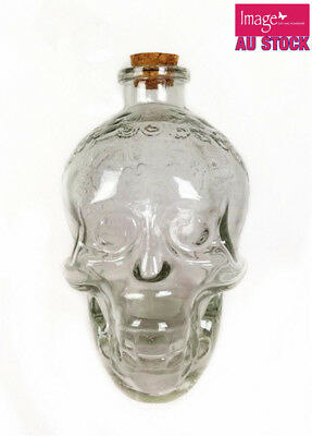 5+1pcs Free 3D Crystal Skull Head Bottle Vodka Whiskey Wine Glass Bar Party
