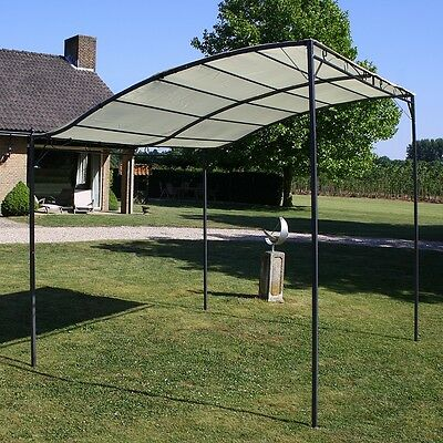 Outdoor 3x2.5M Canopy Gazebo Wedding Party Sunshade Marquee Awning Event White