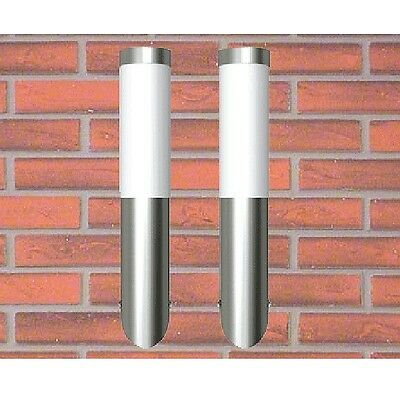 2pc Wall Light Fixture Lamp LED Sconce Modern Pathway Outdoor Indoor Industrial