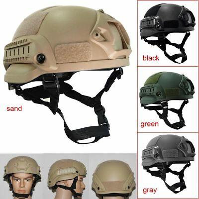 MICH2000 Tactical Military Paintball Combat Airsoft Protective Helmet Hunting